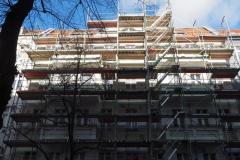 Fassade ohne Plane